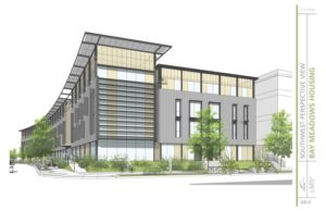 Bay Meadows Affordable Project Rendering